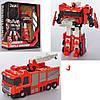 Трансформер JQ6118-1 робот+пожежна машина, кор., 28-35-12,5см.