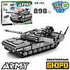 Конструктор KB 183 танк, 898 дет., кор., 47,5-36-7см.