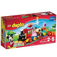Lego Duplo Парад на День Рождения Микки и Минни Disney Mickey Mouse Clubhouse Mickey & Minnie Birthday Parade