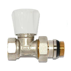 KP вентиль радиаторный антипротечка прямой 1/2x1/2 (KR.903-Gi)