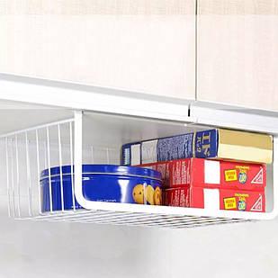 Дополнительный подвесной органайзер, полка для кухни (белый)