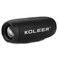 Портативна колонка Bluetooth KOLEER S1000 чорна