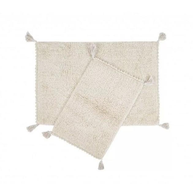 Набір килимків Irya 40х60+60х90 Axis зелений