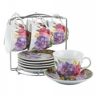 Набор чайный Большие цветы 12 предметов Оселя