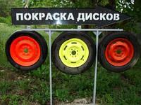 Покраска автомобильных дисков порошковой краской