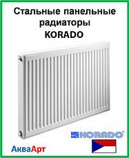 Стальные радиаторы Korado 22 класс боковое подключение