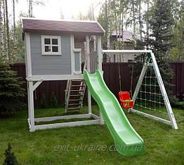 Детская площадка из дерева для дачи