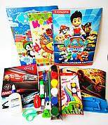 Школьный набор канцтоваров для мальчика Стандарт +, 28 предметов