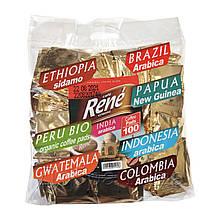 Rene Ассорти 100 шт кофе в чалдах для Philips Senseo