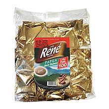 Rene Papua Arabica 100 шт кофе в чалдах для Philips Senseo