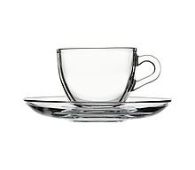 Набір кавовий Pasabahce Basic 12 предметів 90мл d6,4 см h5,7 см скло (97984)