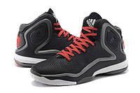 Баскетбольные кроссовки Adidas Rose 5.0  black