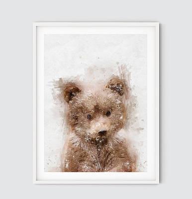 Плакат Bear формат А3