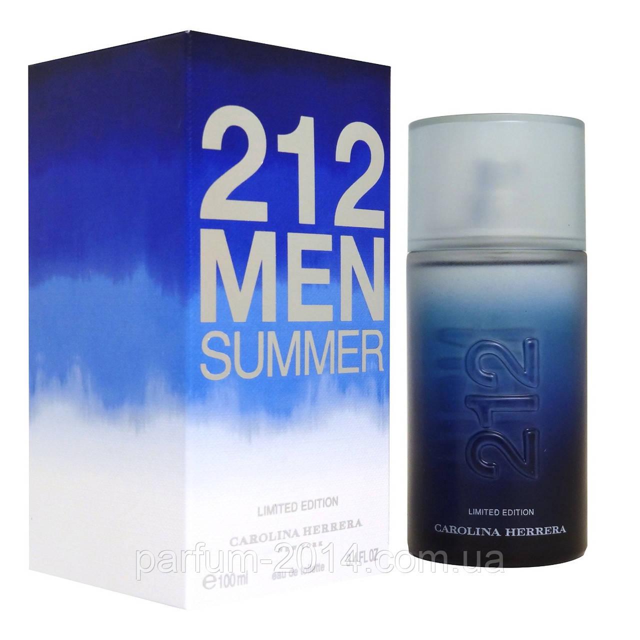 Мужская туалетная вода Carolina Herrera 212 Men Summer Limited Edition (реплика)