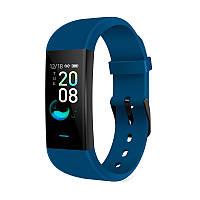 Водонепроницаемые фитнес-часы Wristbrand YWK-P9 для Android и IOS синие