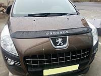 Дефлектор капота (мухобойка) Peugeot 3008 2011-