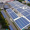 Началось строительство рекордной крышной СЭС