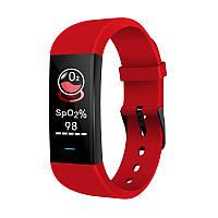 Водонепроницаемые фитнес-часы Wristbrand YWK-P9 для Android и IOS красные
