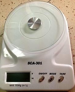 Весы кухонные электронные 102/301/6102 (7кг)