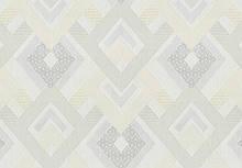 Обои флизелиновые серые абстракция, Серые обои, Обои в зал гостиную LS Ромбада ДХС-1328/3 (1,06х10,05 м)