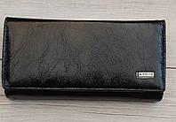 Гаманець жіночий зроблений зі штучної шкіри чорний