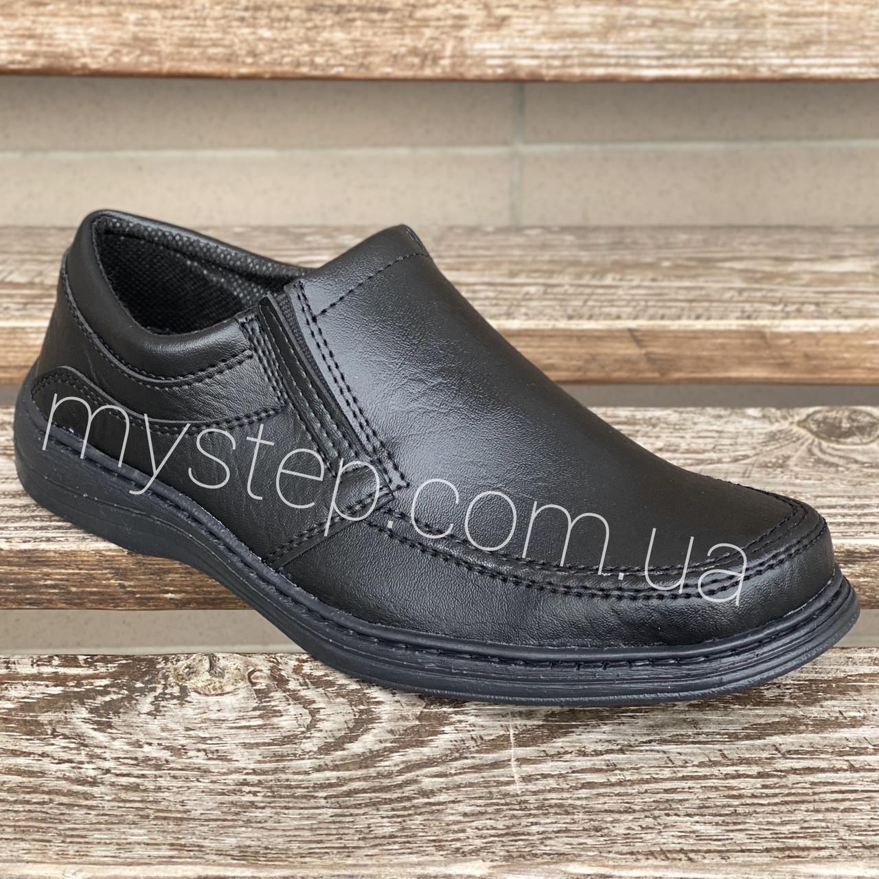Туфлі чоловічі резинка Анкор