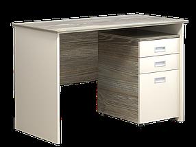 Комп'ютерний стіл Інтарсіо Soft 1200х786 мм Мігдаль + дракар КОД: SOFT