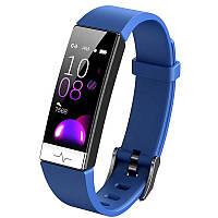 Фитнес-браслет Lemfo Y91 с измерением давления и уровня кислорода в крови синий