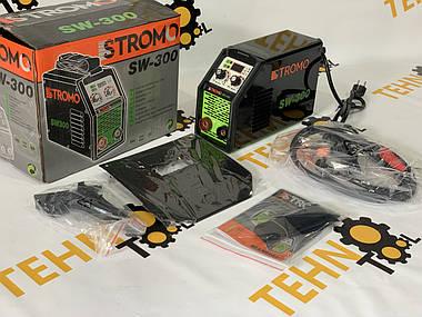 Інверторний зварювальний апарат STROMO SW-300, фото 3