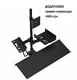 Эргономичная кассовая стойка для POS-оборудования (кронштейн банковского терминала, монитора, принтера), фото 8