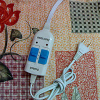 Простынь электрическая 140х155 см. Электроматрас двухспальный, байковый, фото 1