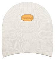 Набойка резиновая мужская BISSELL, art.RB61, цв. белый (желтый лого)