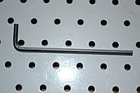 Ключ Г-образный шестигранный 4-мм 105х24мм