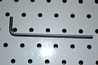 Ключ Г-образный шестигранный 4-мм 105х24мм, фото 1