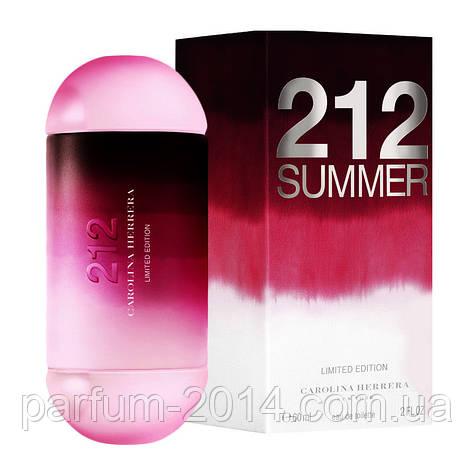 Женская туалетная вода Carolina Herrera 212 Summer woman Limited Edition (реплика), фото 2