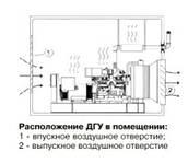 Рекомендации по монтажу дизельгенератора в помещение