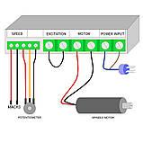 Электро шпиндель 800 Вт DC110 В с блоком питания для ЧПУ фрезерного станка с воздушным охлаждением, ER11, фото 8