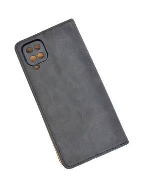 Чохол-книжка для телефону Samsung A02s / A025 NANCY Black (4you), фото 2