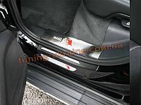 Внутренние накладки на пороги для Audi Q5