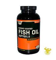Жирные кислоты Fish Oil от Optimum Nutrition 200 капс.