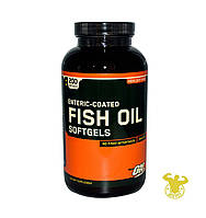 Жирные кислоты Fish Oil от Optimum Nutrition 200 капс.