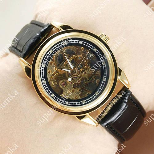 Надежные наручные часы Rolex Oyster Perpetual Black/Gold/Black 2017