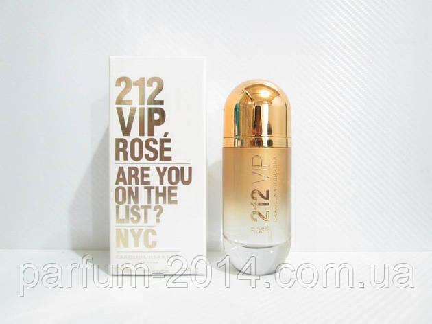 Женская туалетная вода Carolina Herrera 212 VIP Rose Gold (реплика), фото 2