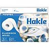 Туалетная бумага Hakle 3-х слойная классический Белый, 8 рулонов