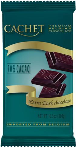 Бельгийский шоколад Premium Cachet Dark Chocolate в ассортименте, 300 гр