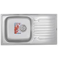 Мийка кухонна HAIBA 78x50 (satin) (HB0647)