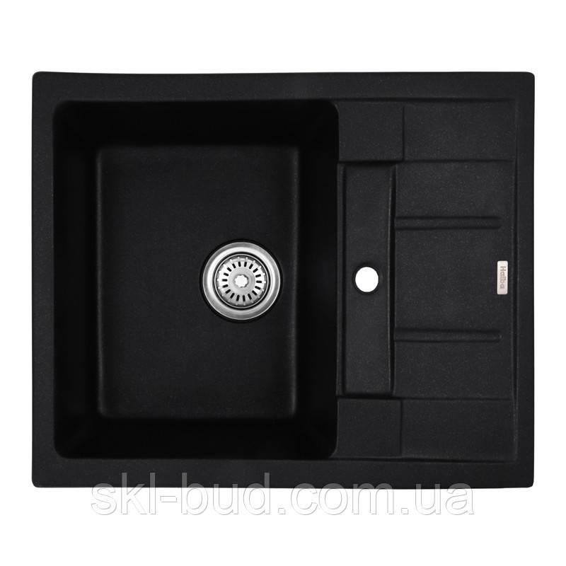 Мойка кухонная HAIBA HB8210-G226 BLACK 620x500x200 (HB0983)