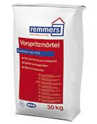 Раствор с устойчивостью к сульфатам для нанесения набрызгом в качестве адгезионной грунтовки Vorspritzmörtel