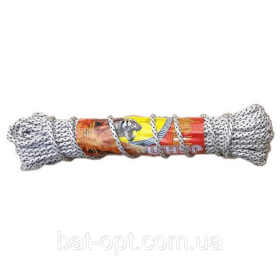 Шнур Дилонг плетёный полипропиленовый с мягким наполнением 20м х 5мм