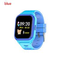 Детские смарт-часы TANGBEY Q23 с функцией голосового общения GPS синие